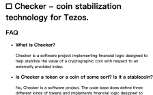 Checker FAQ